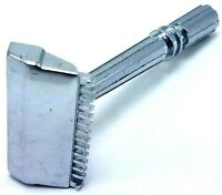 Vtg 1930s Gem Micromatic Clog Pruf Single Edge Razor - Very Good Condition