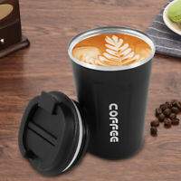 13oz Coffee Cup, Double Walled Travel Mug Vacuum Insulation Stainless Steel