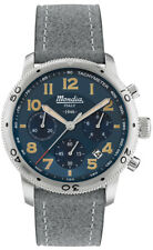 Reloj Hombre MONDIA ITALY 1946 CRONO MI753-2CP de Cuero Gris