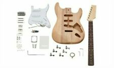 More details for diy guitar kit - build your own stratocaster style guitar - ideal musician gift