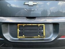One License Plate Bumper Mounting Holder Adapter Bracket + GOLD Frame for CHEVY