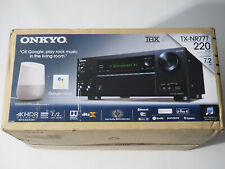 Onkyo TX-NR777 7.2-channel home theater receiver with Wi-Fi