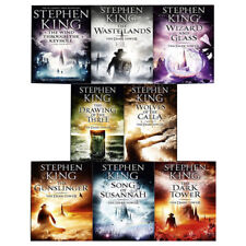 Stephen King The Dark Tower Series 8 Books Collection Set Pack (Book 1-8) NEW