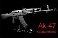 AK 47 Kalaschnikow Blechschild Schild gewölbt Metal Tin Sign 20 x 30 cm CC0094