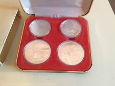 1976 Canadian Montreal XXI Olympic 4 Coin Set
