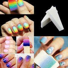 Set 16 PCS Éponge à Ongle Dégradé Vernis Acrylique UV Déco Manucure Nail Art NF