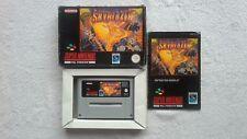 Skyblazer UKV Complete Boxed CIB Super Nintendo SNES RARE Game Sky Blazer GC