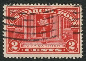 #Q2 2c Parcel Post: City Carrier, Used [1] ANY 4=