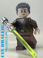 LEGO STAR WARS JEDI TEMPLE GUARD CIN DRALLIG HEAD SECURITY CLONE WARS PRAETORIAN
