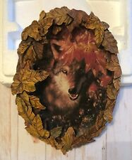 "New ListingThe Bradford Exchange, Season of the Wolf ""Autumn Magic"" Collectors Plate"