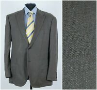Mens Marks & Spencer Size UK 44R Brown Summer Linen Sport Coat Blazer Jacket