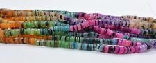 Multi Colored Hammer Shell Heishi Beads  24 Inches Strand 4-5 mm