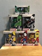 Hasbro Marvel MIghty Muggs Vinyl Figures Venom Spider-Man Hulk Wolverine Funko