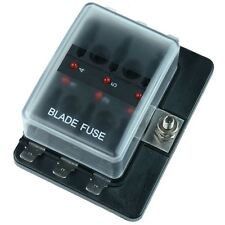 Standard Blade 6 Fuse Holder with LED Status Indicator 100A SCI R3-76-01-3L106
