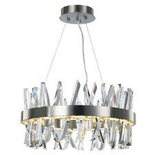 Visconte Flusso Large Ceiling Pendant Adjustable Light Satin Nickel Litecraft