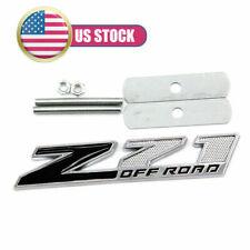 3D Black Z71 Emblem Badge Front Grill Grille For Chevy Colorado Silverado Tahoe