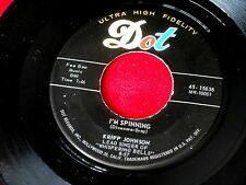 KRIPP JOHNSON~WHEN I COME HOME~I'M SPINNING~DOT~NEAR MINT~A KILLER ~ DOO WOP 45