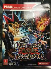 Yu-Gi-Oh! Nightmare Troubadour (Prima Official Game Guide) Nintendo DS