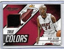 RAY ALLEN 2016-17 PANINI PRESTIGE NBA MATERIALS GAME USED JERSEY