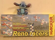 SENT2U! HACKER FORMULA ONE RENO RACERS RC Plane Indoor Outdoor 3D Pylon Racer