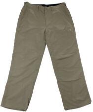 The North Face Mens Size 36 Khaki 100% Nylon Hiking Pants