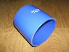 #NEW# BLUE SILICONE HOSE, 90MM X 93MM (TURBO/INTERCOOLER/BOOST/COOLANT/AIR)