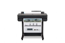 Hp Designjet T630 Large Format Wireless Up To 24 Inch Media Rolls Black