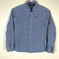 Superdry 'London Button Down' Dress Shirt Size Men's Large