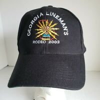 Georgia Lineman's Rodeo 2003 Trucker Hat Lineman Snapback Ball Cap SE/EC