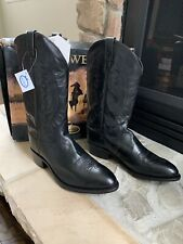 Old West Mens Leather Boots Size 12 EE