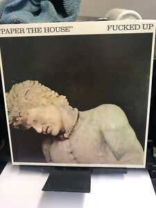 """Fucked Up - Paper The House New Unsealed 7"""" Vinyl Single Plus Limited Inner Punk"""