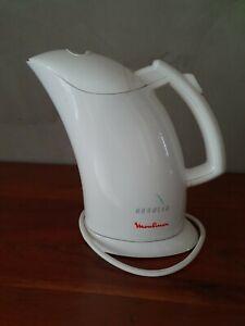 Moulinex Aqualia AY4 bouilloire arret automatique blanche sans fil 0.8L 1100w