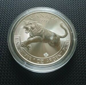 Kanada ° 5 Dollars 2016 ° Puma ° Silber 9999/1000 1 oz. Feinsilber - 31,1g