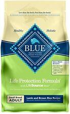 Blue Buffalo BLUE Adult Small Breed Lamb Recipe 6 lb
