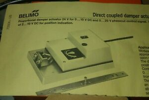 Belimo SM24-SR US 24 VAC/DC 133 in-lb Actuator New Old Stock Free Shipping