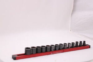 14 piece, 8-22mm, socket set 3/8 drive Matco