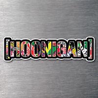 Hoonigan JDM sticker bomb sticker 200mm quality water & fade proof vinyl