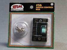 ATLAS HO SCALE SWITCH CONTROL BOX controls setting remote machines design 56 NEW