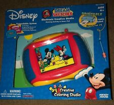 Disney Mickey Mouse Dream Sketcher Electronic Coloring Studio Game NIB