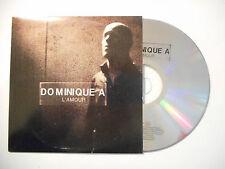 DOMINIQUE A : L'AMOUR ♦ CD SINGLE PORT GRATUIT ♦