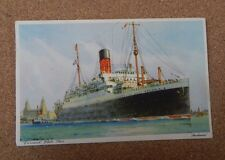 Postcard Cunard White Star And Andania.1939 posted . XC2