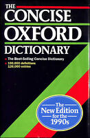 The Concise Oxford Dictionary of Current English by Fowler, H.W. [Editor]; Fowle