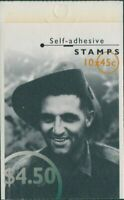 Australia booklet 1995 SG1525-1529 45c WWII Heroes MNH