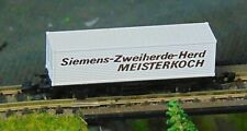 More details for marklin 8616   siemens container wagon