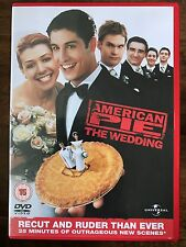 AMERICAN PIE  3: THE WEDDING ~ 2003 Sex Comedy | Ruder and Recut UK DVD