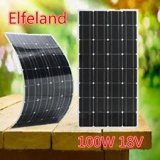 Elfeland 18V 100W  Pannello Solare Fotovoltaico Camper Barca Giardino Baita