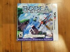 Rodea The Sky Soldier Nintendo 3DS Case with cover art, NO GAME!