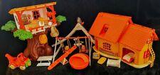 Vtg Hasbro Weeble Winnie The Pooh Honey Treehouse House Tigger Christopher Robin