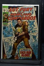 Sgt Fury and His Howling Commandos #74 Marvel Comic 1970 Stan Lee Dick Ayers 9.2