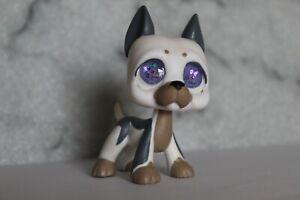 Littlest Pet Shop Resin/Glass-Eye Custom Great Dane OOAK